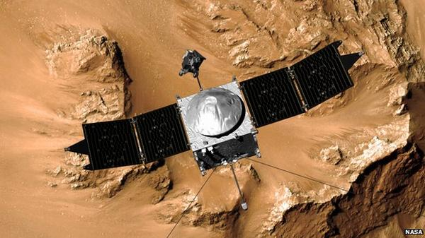 It's about to get very busy at Mars. First to arrive: Nasa's @MAVEN2Mars, and then @isro MOM http://t.co/l6vGBuHS5s http://t.co/gkPQzjJLU6