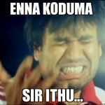 RT @vigneshyuvan1: #MyMemorableCricketMoment @Premgiamaren in Chennai28 #EnnaKodumaSirIthuMoment with last ball catch being a no ball