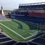 RT @ESPNNFL: FIRST LOOK: The calm before the storm at Gillette Stadium. Raiders at Patriots 1pm ET (via @MikeReiss) http://t.co/zofFigcTIB