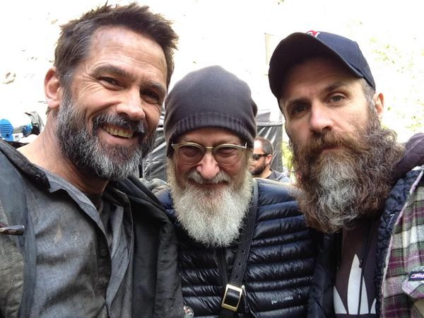 """@WOCampbell: Helix, Battle of the Beards!  (I am losing) w/Jeremiah Chechik and Matt Jamus"" http://t.co/j3Huca6EOR"