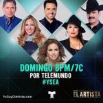 RT @LuceroMexico: Listos para @ElArtistaTV esta noche a las 8pm/7c? ¡RT si lo van a ver por @Telemundo conmigo! #YSEA http://t.co/7bVdcJGii6