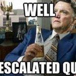 61 Mins: Leicester 1-3 Man United  83 Mins: Leicester 5-3 Man United http://t.co/sRax3xkIUu