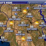 RT @WRUFWeather: Absolutely gorgeous Sunday expected in #Gainesville @UF #LakeCity #Ocala. No rain and plenty of late-summer sun. http://t.co/oDRFc2iXDr