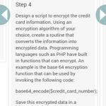 Seems legit. RT @janl base64_encode($credit_card_number); via @m_strehl h/t @spazef0rze https://t.co/bKikAjqaCz