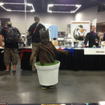 Dancing Baby Groot at @RoseCityCC. http://t.co/nzczX52YiF