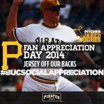 RT @Pirates: ONE lucky follower will win @locatejared's jersey from today AND a shoutout from Jared! #BucSocialAppreciation http://t.co/pQmLKcc1iu