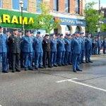 RT @BarriePolice: #honorsoliders #BPS Battle Of Britain Parade @ROCK95NEWS @barrieadvance @Barrie411 @BarriePFFA @680News http://t.co/8zSHvZSThC