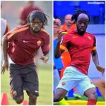 WOW: Gervinho with vs without a hairband on! http://t.co/v3F59ZNgaW