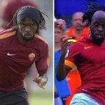 Gervinho with a headband vs. without a headband. http://t.co/VwM0J79vNz