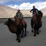 Bidding adieu to @SwatySMalik after 12 super fun adventurous days. #LadakhRun