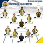 Fenerbahçemizin ilk 11i! #RakibimizAntep #SaldırKanarya http://t.co/0btNIqQ4Bb