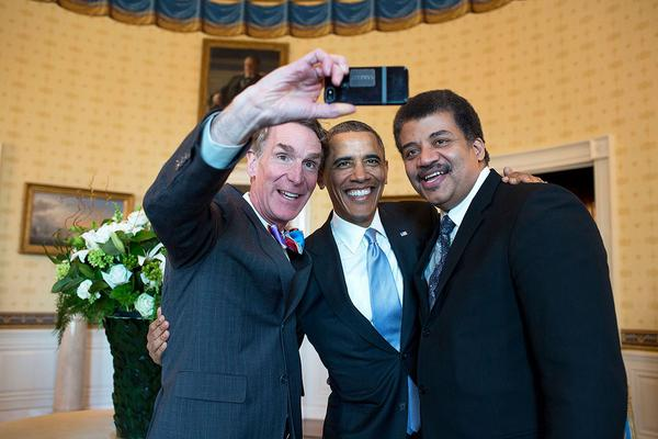 Fighting climate change, one day at a time with @TheScienceGuy and @NeilTyson #WalkTheWalk http://t.co/rjwOpTQkWB