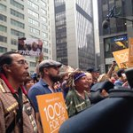 RT @sulfurica: Leonardo DiCaprio joins the march. #PeoplesClimateMarch #PeoplesCIimate http://t.co/rjEhBlnnCZ