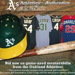 Last chance to bid on game-used, jerseys, baseballs & more. Ends tonight @ 8pm PST:http://t.co/vHrcBU2JXA #Athletics http://t.co/WGQnJ9oxQG