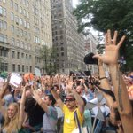 RT @Peoples_Climate: Moment of silence #PeoplesClimate http://t.co/lwNCbN1sAJ
