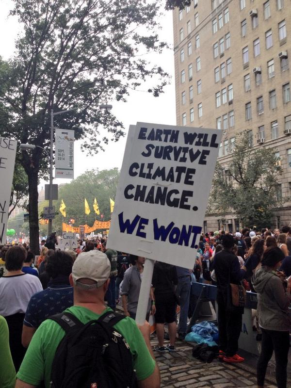 Indeed, this is not so much about the planet as it is about humanity. #PeopleClimate @Greenpeace @greenpeaceusa http://t.co/d3nBc7RIUS