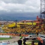 """@Via @ChinoNetwork: Mas hinchada amarilla en el Sector denominados Tribuna de Ninos antiguamente @DigitalplusHD http://t.co/we5GqradtL"""