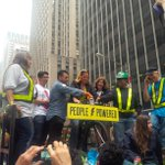 RT @IvanLS24: @MMViverito powering the #PeoplePower float w @HelenRosenthal + @cmenchaca #peoplesclimatemarch #wecanbuildthefuture http://t.co/xO05gcpexM