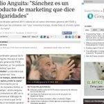 """RT @raquelrz1: """"Sanchez es un chico hecho por la fábrica d moneda y timbre, si no, al tiempo"""" afirma Anguita http://t.co/n7URJ9tnkG http://t.co/V1pk3oNoVy"""
