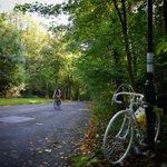 RT @VeryCreativeLtd: #rideforeric #ghostbike #sheffieldissuper Poignant photo by @nathandainty http://t.co/TcjrSqQlA3