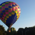 RT @primamodels1: And another colourful balloon takes off #waterford #hotairballoons http://t.co/2xgwnMGy28