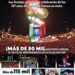RT @mrikelme: Gracias por tu apoyo en los eventos del 107 aniversario de nuestra ciudad #Torreón #SeguimosTrabajandoAl100 http://t.co/UhlR71zuac