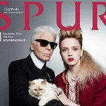 RT @fashionpressnet: [明日発売] カール・ラガーフェルドが表紙!SPUR11月号 - 愛猫シュペットと共演 - http://t.co/Y53JC2bmke http://t.co/nnIt2aSBiI