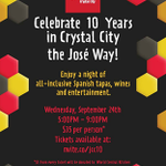 This Weds. September 24th, @JaleoCC in Crystal City come to Jaleos #fiesta for #vino #musica #tapas #flamenco #DC http://t.co/UVeIwZ3RhH