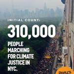 OFFICIAL COUNT: 310,000  people marching for climate justice at #PeoplesClimate March! http://t.co/YGLavoKQBV