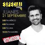 RT @JuanesHonduras: Excelente Domingo! Especial de @juanes por @RitmosonOficial a las 2:00 pm de #Honduras ! #JuanesEnRitmoson @UMUSICA http://t.co/tuLOSqmq7T