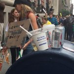 Environmentalist; theyre just like us. They litter the planet. #PeopleClimateMarch #nyc http://t.co/2c0WCNAapL