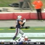 RT @PeteBlackburn: Gronk managed to drop this... http://t.co/KMcPdFhD7V