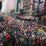 RT @JennaBPope: Huge crowd coming through Times Square for the Peoples Climate March right now! #PeoplesClimate @Peoples_Climate http://t.co/BxAwDv9Na1
