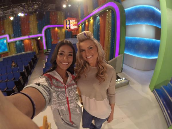 @PriceIsRight Season 43 premiere airs tomorrow! RT if you'll be watching! #BTS with @ManuelaArbelaez during rehearsal http://t.co/Emvevd7pgu