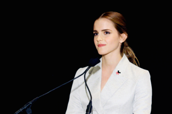 Emma Watson's game-changing speech on feminism received a standing ovation at the U.N. http://t.co/UQwQ51lkTi http://t.co/w1Wb1Z3r3W