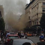 Heading to @BedBathBeyond on 6th in #NYC and when we arrived the store was on fire http://t.co/87TVrse5QN