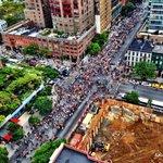 RT @GonzalesKristie: Loud & proud! Birds eye view of #PeopleClimateMarch #PeoplesClimate protest on 42nd St. http://t.co/k5kSF3dzFG