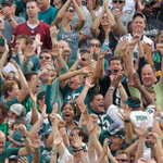 One of these fans is not like the others. #FlyEaglesFly http://t.co/3wmWHWvAQZ