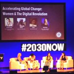 """RT @ServiceYearCo: .@92Y Social Good Summit: Women & The Digital Revolution """"Fastest way to a sustainable society"""" #2030NOW #serviceyear http://t.co/UZzkHvhGIT"""