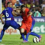 RT @FCBarcelona_cat: Min 80: Levante, 0 - FC Barcelona, 5 #FCBlive http://t.co/O8IYcDP5Ns