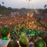 As predicted Karachi roared and proved to the world that all of Pakistan is united in saying: GO NAWAZ GO http://t.co/2Y2R84tsh4