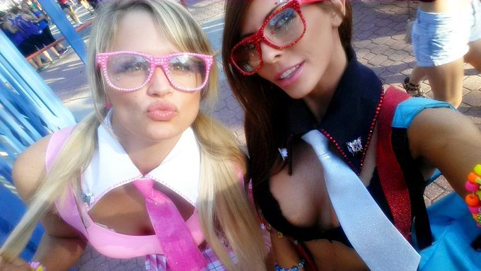 Love my #Rave wife! @Heatherstarlet #Beyondwonderland #Day1 #NerdCrew http://t.co/G6ZksU8tFP