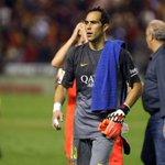 RT @FCBarcelona_es: Claudio Bravo: 4 partidos de Liga y ningún gol encajado. Es el Zamora provisional de la Liga #FCBlive http://t.co/JqW3fWjWOT