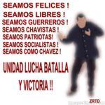 RT @dragoncandanga: Patriotas pongamos la red roja rojita apoyando las etiquetas Chavistas #VenezuelaTerritorioDePaz #SomosGenteDePaz http://t.co/mdzDgrddFj