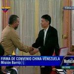 RT @candangaNoticia: Pdte. .@NicolasMaduro firma actas de compromiso y alianzas industriales con China #VenezuelaTerritorioDePaz http://t.co/4rgLtq3jov