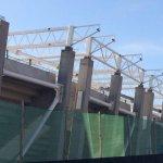 """Estructuras de la Techumbre en Tribuna Oriente """"Martín Badia"""". Estadio La Portada. @LaSerena_Chile @LaSerenaCHI_SUD http://t.co/TAPohOspfR"""