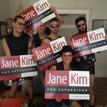 RT @pgalsf: Jane Kim 4 Supervisor! Happy Folsom! @SupeJaneKim #Folsom #District6 http://t.co/MnZ3YHcQmJ