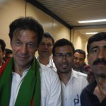 RT @amjadpassu: Met Mr @ImranKhanPTI tonight at #karachi airport while coming to #Islamabad. A humble man http://t.co/FCzQJcimOO
