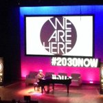 RT @92Y: Alicia Keys performs #WeAreHere at The Social Good Summit #2030NOW @aliciakeys http://t.co/1TXwTDk6rc