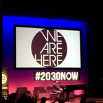 RT @opuech: .@aliciakeys performs #WeAreHere at the #SocialGoodSummit #2030NOW http://t.co/ix9nTu09qB